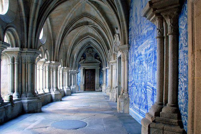 se catedral azulejos porto