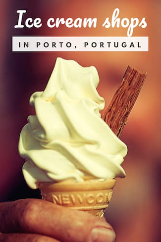 where get ice cream porto