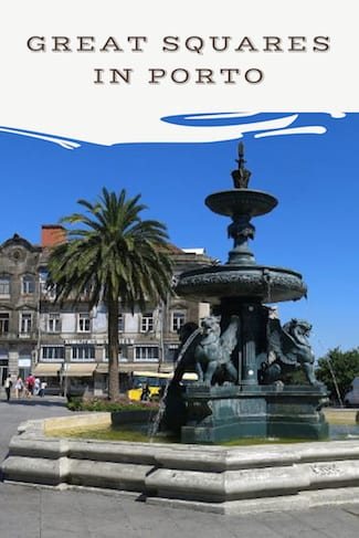 amazing squares porto portugal