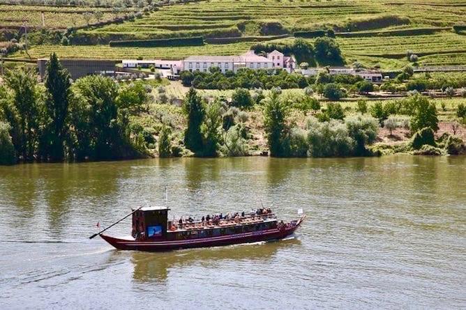 barco rabelo cruzeiro douro