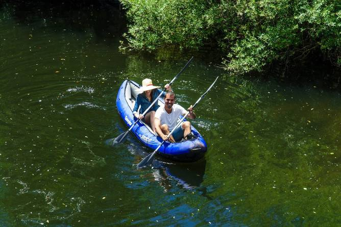 best kayaking places porto