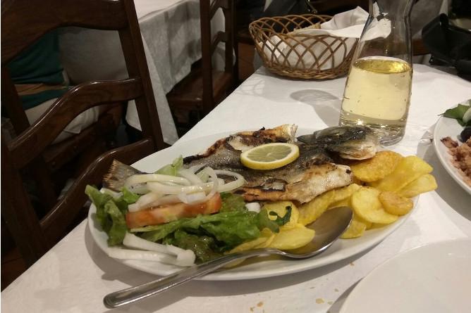 comer melhor peixe grelhado ernesto porto