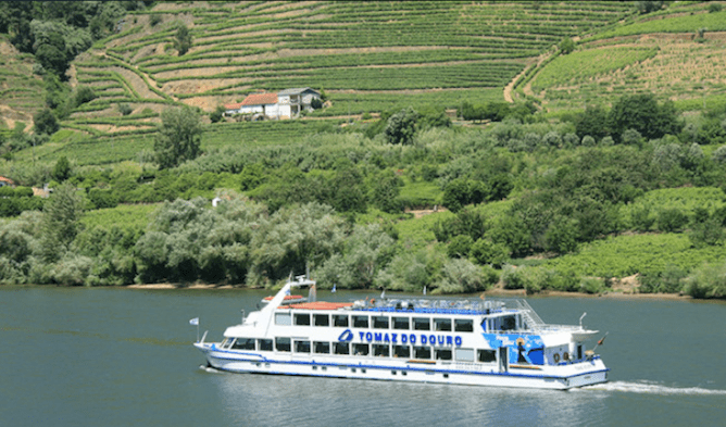 large boat douro river cruise from porto to regua