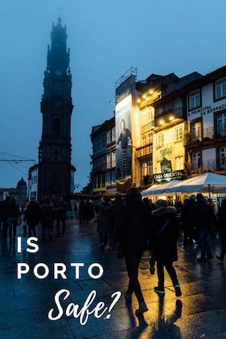 list factors safety porto portugal