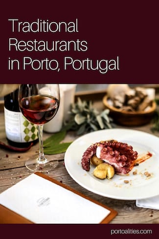 list traditional restaurants porto grilled octopus wine glass