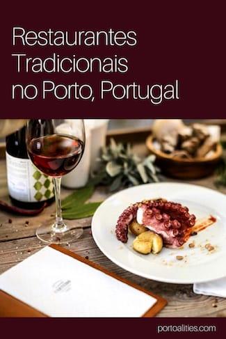 melhores restaurantes tradicionais porto polvo grelhado copo vinho