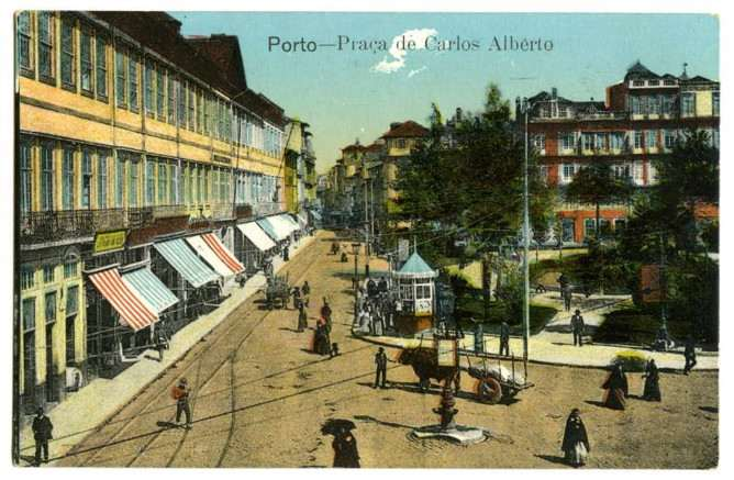 old carlos alberto sqaure porto