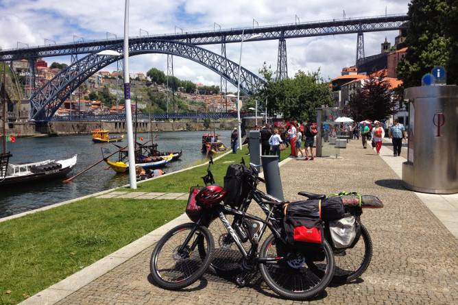 onde andar bicicleta porto