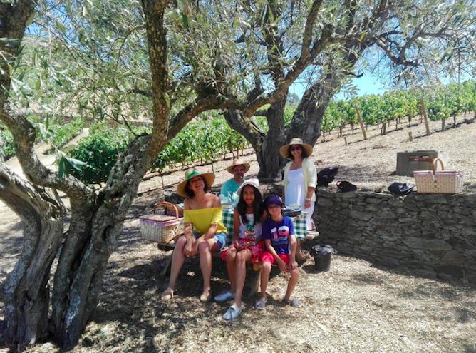 picnic quintas douro atividade familia criancas