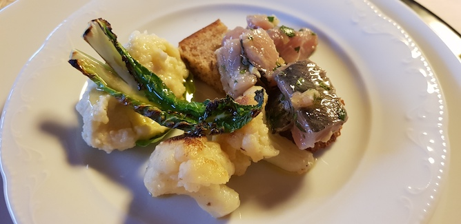traditional portuguese codfish dish