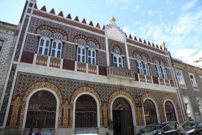 beautiful azulejo tile warehouse porto fabrica devesas