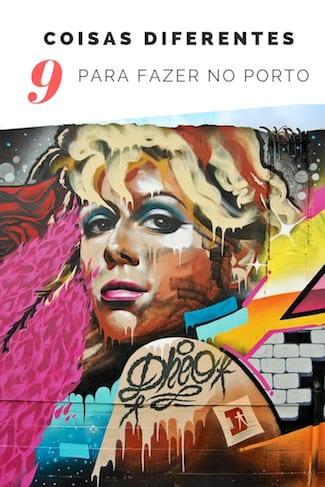 coisas diferentes fazer porto arte urbana
