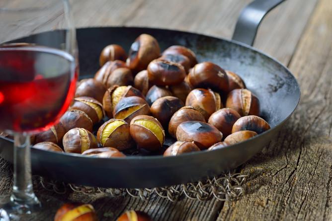 fall celebrations wine chestnut porto