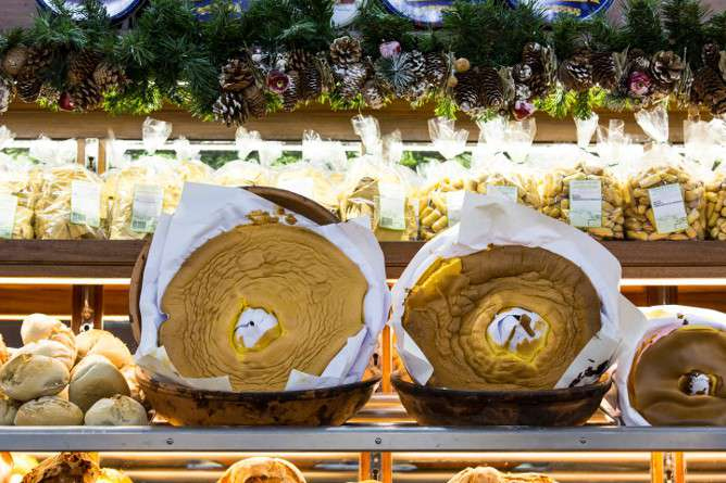pao lo bolo traditional natal porto