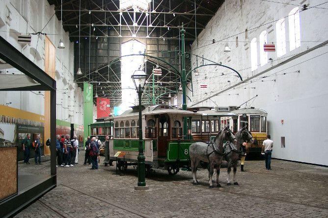 tram museum porto
