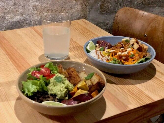 vegan bowls kind kitchen vegetarian restaurants porto