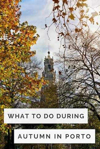 what to do during autumn porto