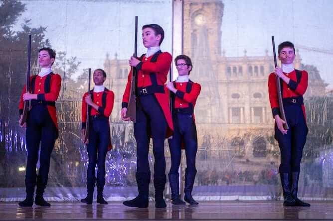 nutcracker dance performance christmas porto