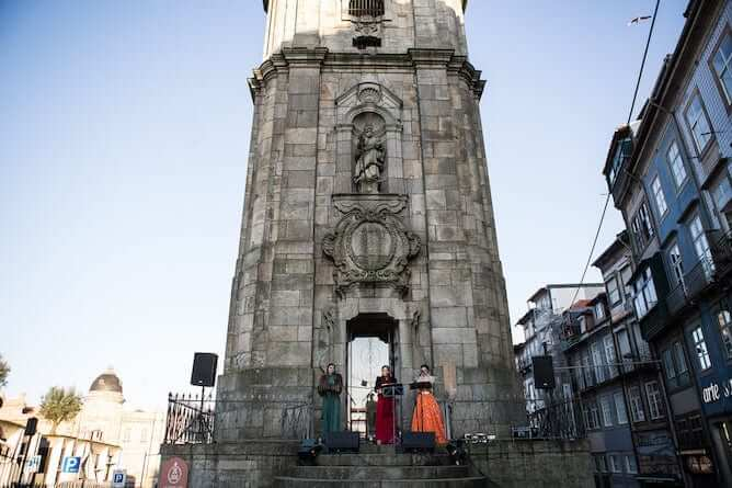 opera singing torre clerigos christmas porto