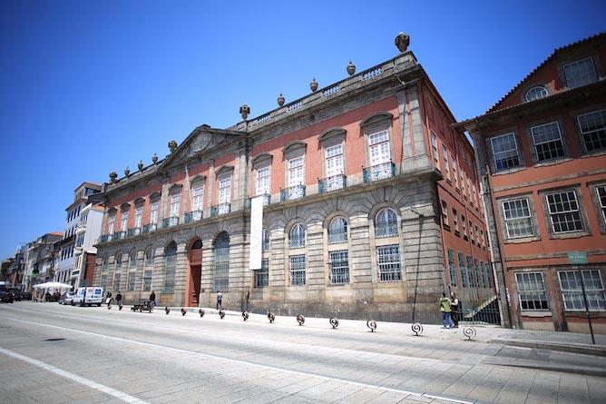 facade national museum soares reis porto
