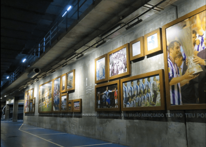 gallery photos famous players fc porto museum
