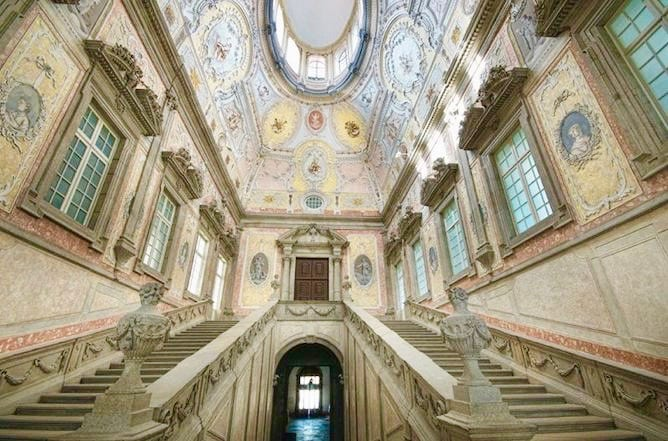 marble staircase episcopal palace porto