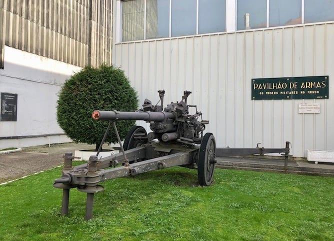 museu militar porto pavilhao armas canhao