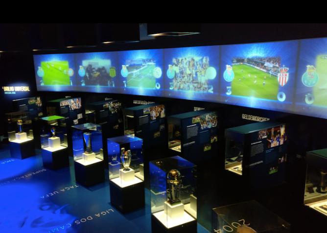 trophy room fc porto museum