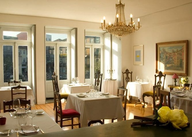 camafeu dining room restaurant porto