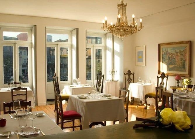 dining room camafeu romantic restaurant porto