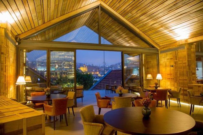 enoteca 1756 sala jantar vista romantica