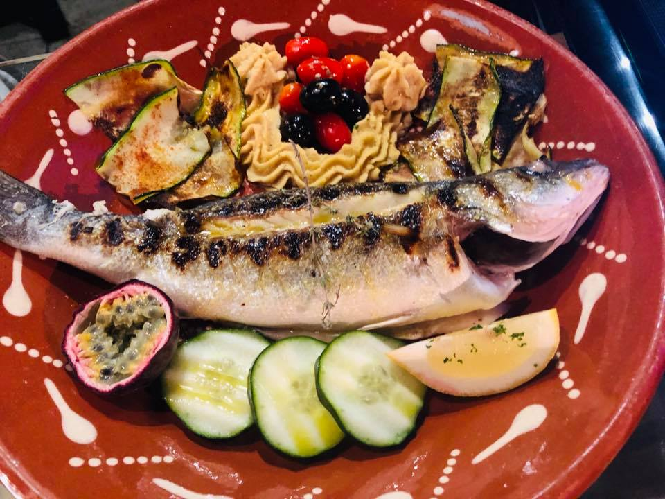grilled sardines portuguese food