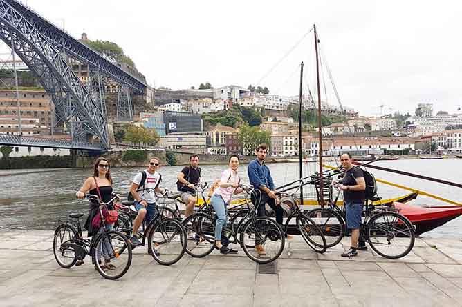 actividades ribeira andar bicicleta durus