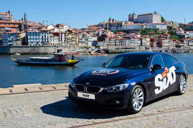 aluguer carro aeroporto porto portugal