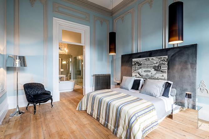 double bedroom charm palace boutique hotel porto