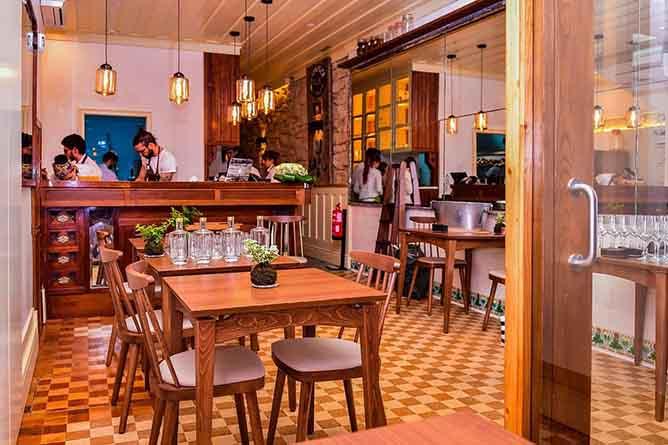 almeja interior haute restaurant porto