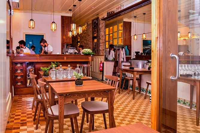 almeja interior restaurante alta cozinha porto
