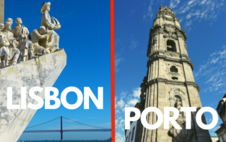 best city visit porto or lisbon