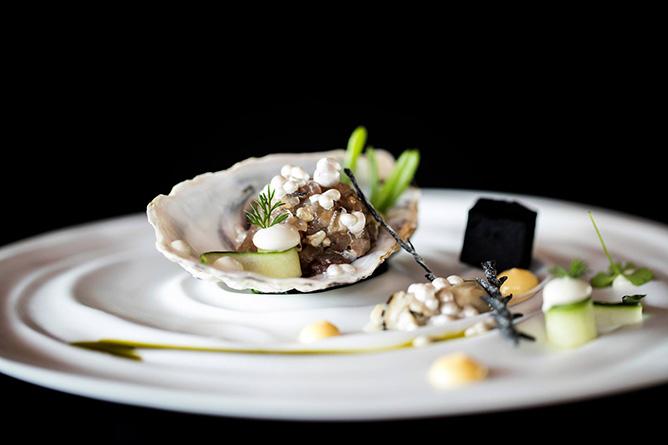 casa cha boa nova porto michelin oysters