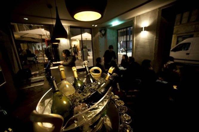 champanheria baixa porto bar drinks