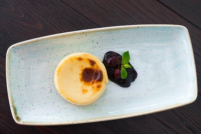 cheese tart haute restaurant porto vinum