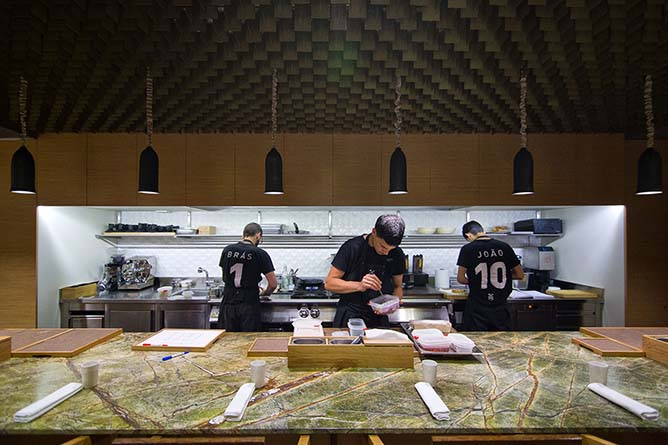 euskalduna studio restaurante alta cozinha mesa central