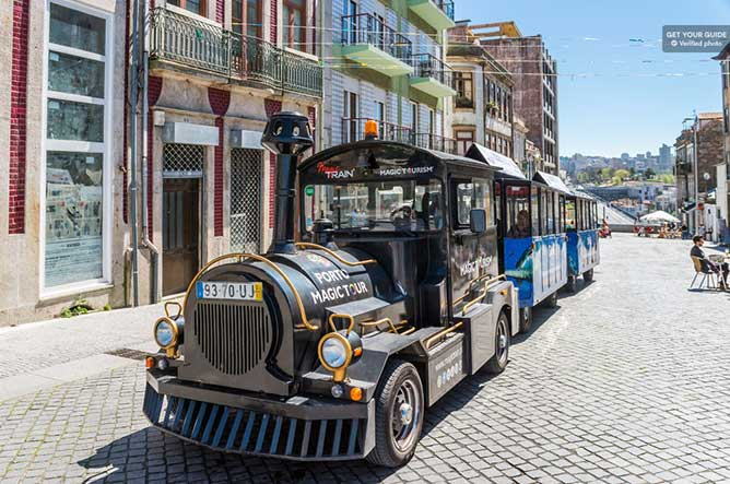 porto city train tour kids activities