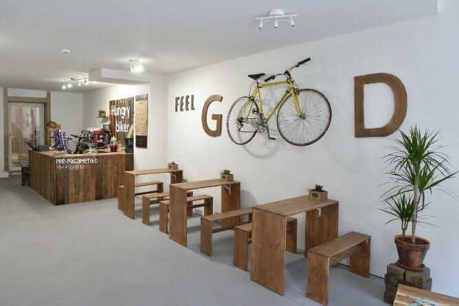 sala principal hungry biker porto