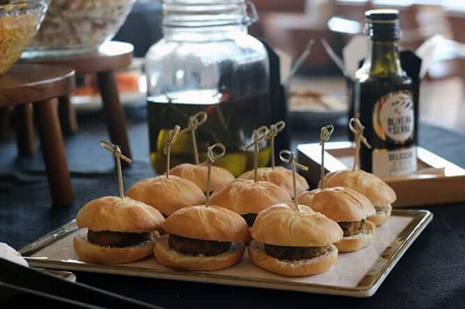vincci porto mini hamburgueres vegetarianos
