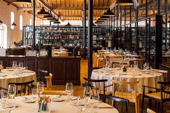 vinum haute restaurant porto interior