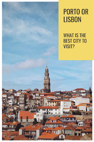 what is the best city to visit porto or lisbon