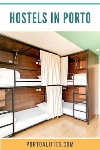 best hostels porto bunkbeds