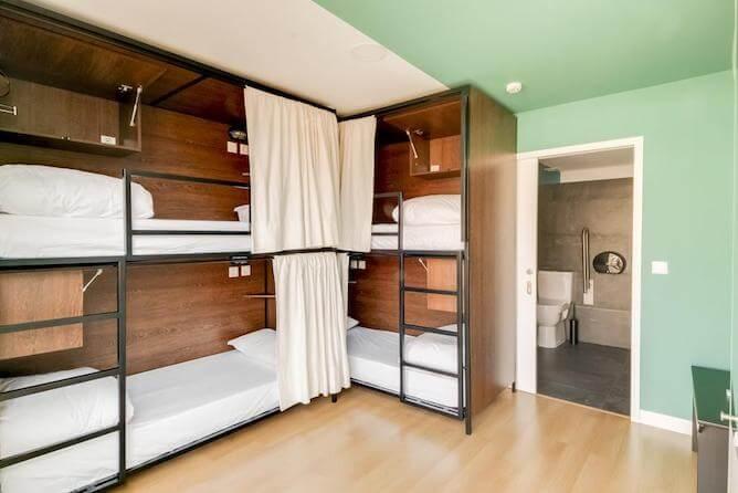 bunker beds selina best hostels porto