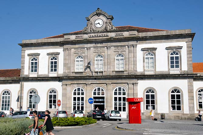 campanha train station porto